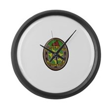 Mariposa Sheriff's Posse Large Wall Clock