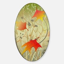 Cute Autumn leaves Decal