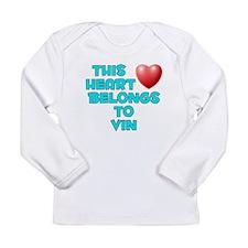 Funny Human heart Long Sleeve Infant T-Shirt