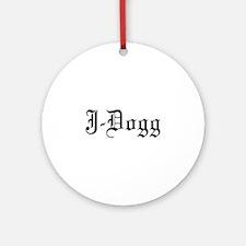 J-Dogg Ornament (Round)