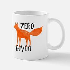"""Zero """"Fox"""" Given Mugs"""
