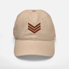 British Sergeant<BR> Khaki Cap