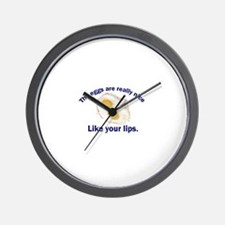 The Eggs Are Really Nice . . Wall Clock