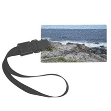 Rocks and Waves Travel Luggage Tag