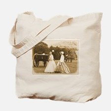 Strolling on the Battlefield Tote Bag