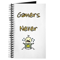 Gamers Never (Cry) Journal