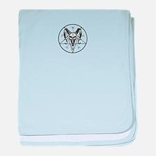 Baphomet Sigil baby blanket
