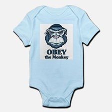 Obey the Monkey Infant Bodysuit