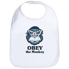 Obey the Monkey Bib