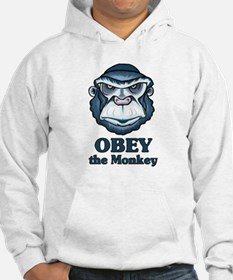 Obey the Monkey Jumper Hoody