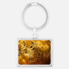 Music Landscape Keychain