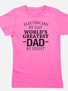 Cute Electrician funny Girl's Tee
