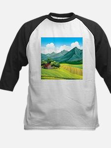 Country Landscape Baseball Jersey
