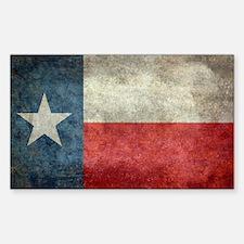 Texas state flag vintage retro Decal