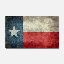 Texas state flag vintage retro  Car Magnet 20 x 12