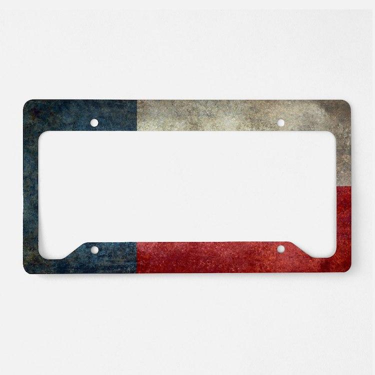 Texas License Plate Frames - CafePress