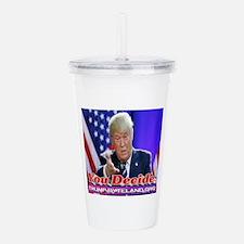 Trump: You Decide Acrylic Double-wall Tumbler