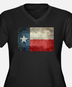 Texas state flag vintage retro s Plus Size T-Shirt