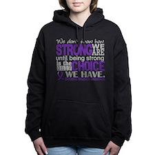 Funny Domestic violence Women's Hooded Sweatshirt
