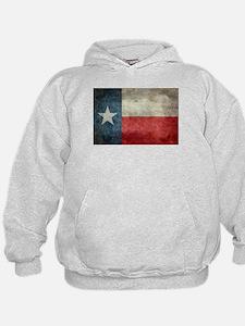 Texas state flag vintage retro style o Hoodie