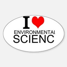 I Love Environmental Science Stickers