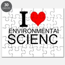 I Love Environmental Science Puzzle