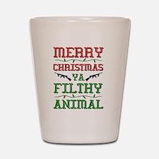Cute Christmas Shot Glass