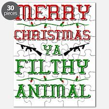 Unique Merry christmas Puzzle