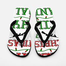Cute Merry christmas Flip Flops