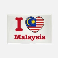 I love Malaysia Rectangle Magnet