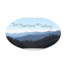 Mountains Calling Wall Decal