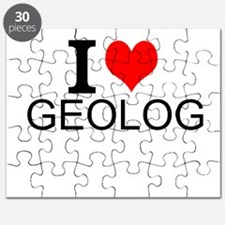 I Love Geology Puzzle
