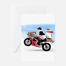 Funny Russell terrier Greeting Cards (Pk of 10)