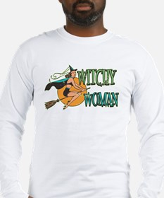 Retro Witchy Woman Long Sleeve T-Shirt