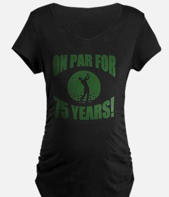 Golfer's 75th Birthday T-Shirt
