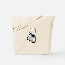 Cute Airman girlfriend Tote Bag
