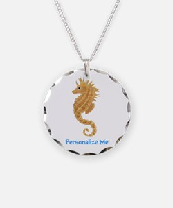 Personalized Seahorse Necklace