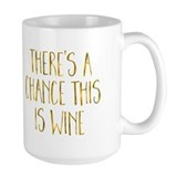 Wine Large Mugs (15 oz)