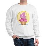 4th Birthday Cupcake Sweatshirt
