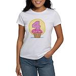 4th Birthday Cupcake Women's T-Shirt