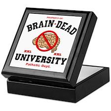 Brain Dead Funny Keepsake Box