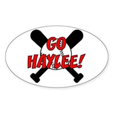 Go Haylee! Oval Decal