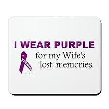 My Wife's Lost Memories Mousepad