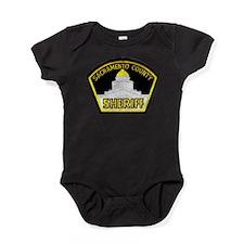 Cute Sheriffs office Baby Bodysuit