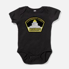 Funny Sheriffs office Baby Bodysuit