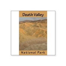 """Cute Death valley national park Square Sticker 3"""" x 3"""""""
