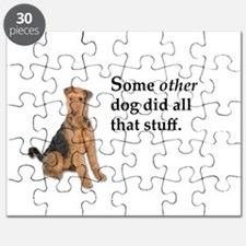 It was some other dog Puzzle