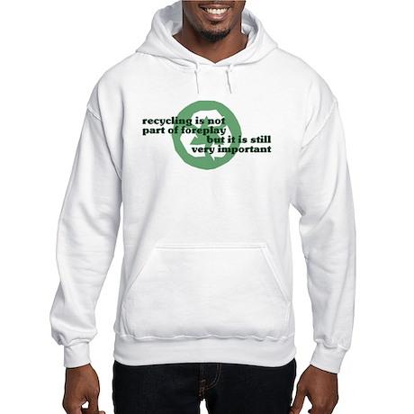 Recycling Hooded Sweatshirt