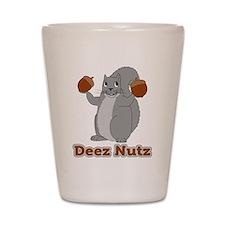 Deez Nutz Squirrel Shot Glass