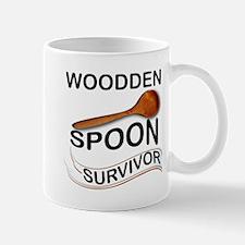 Wooden Spoon Survivor Funny Mugs